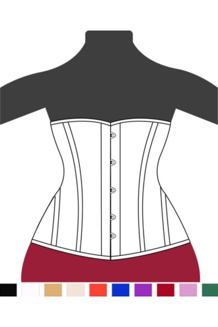 Clasic Victorian Half Bust Corset H8808-1 |ABCorsetry UK