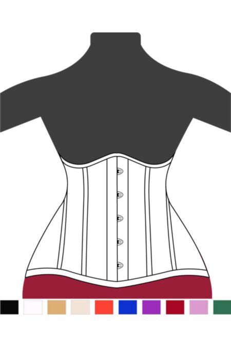 Victorian Hips Underbust Corset Heart U9960-1 |ABCorsetry UK