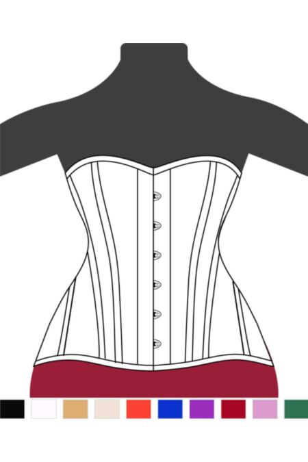 Victorian Hips Overbust Corset F9962-1 |ABCorsetry UK